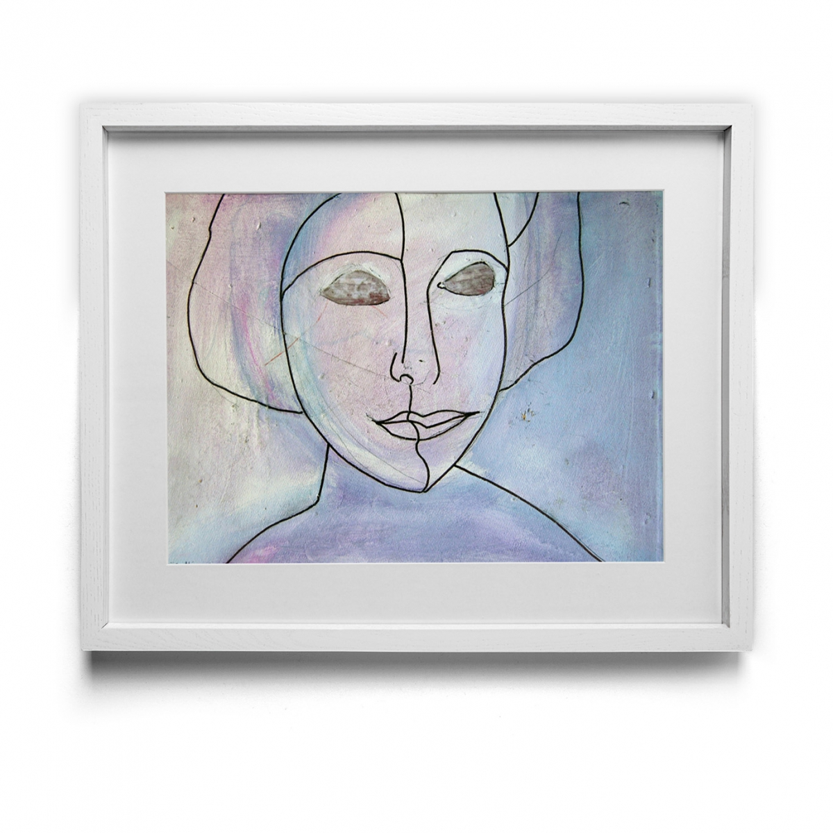 Anais Nin Oil on masonite 1985-1990