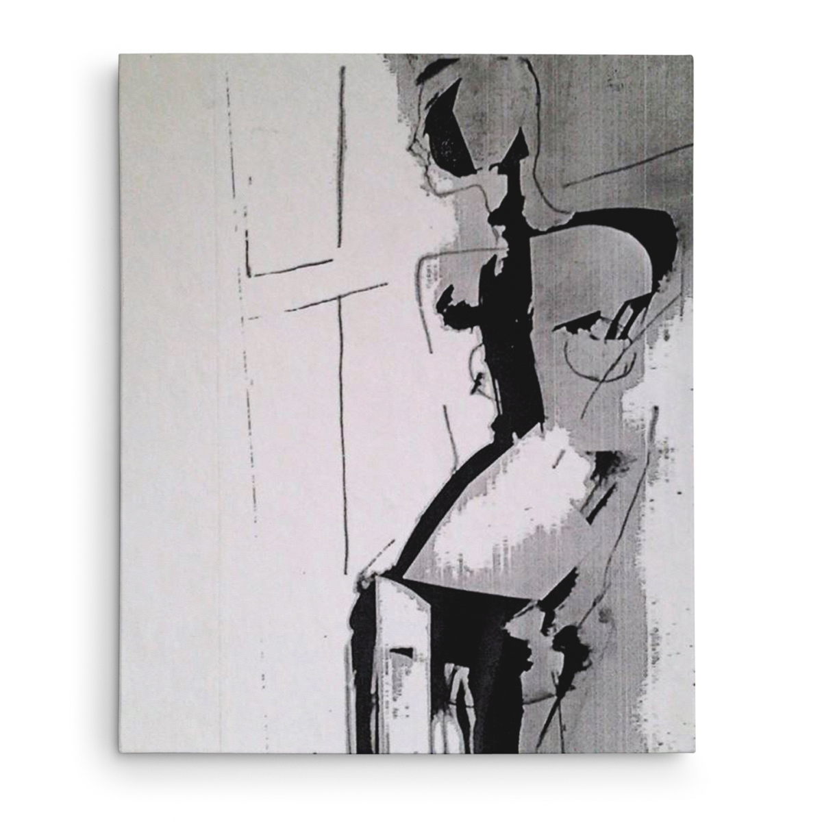 Model Drawing Collage