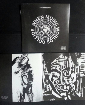 KXNG CROOKED - Deluxe CD with 16 Page Booklet Featuring Art from Carl Köhler